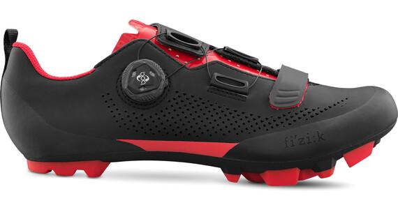 Fizik Terra X5 Buty Mężczyźni czerwony/czarny